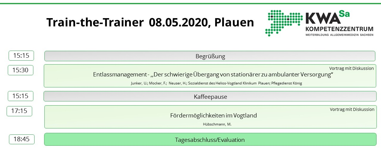 Train-the-Trainer @ Plauen