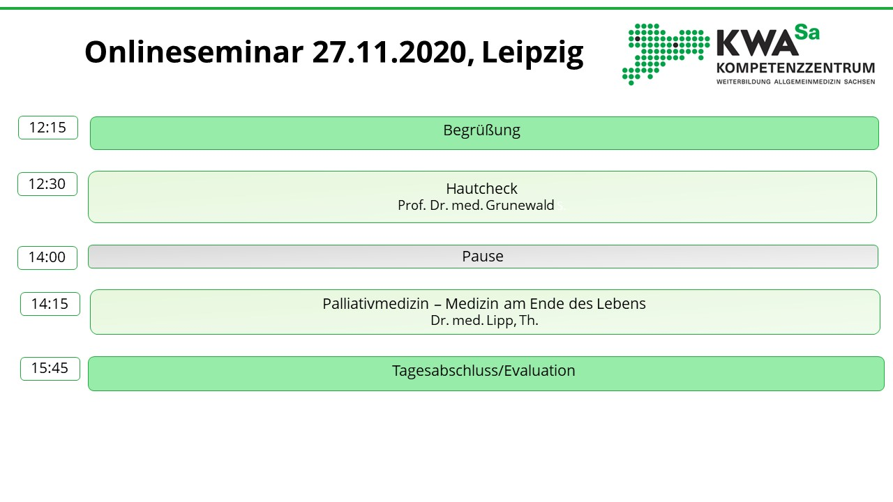 Seminartag @ online