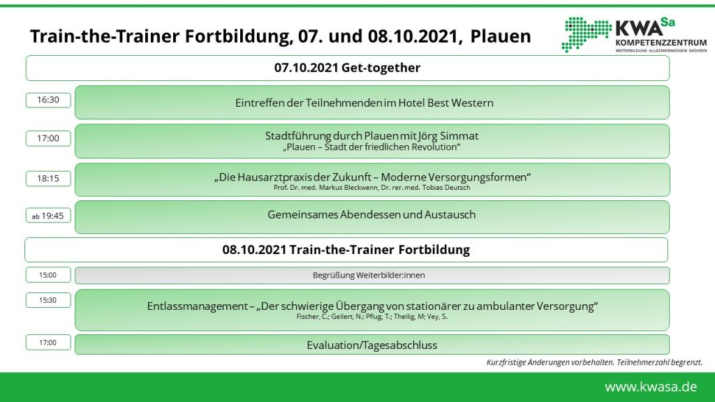 Anmeldung TtT: Get-together in Plauen @ Plauen